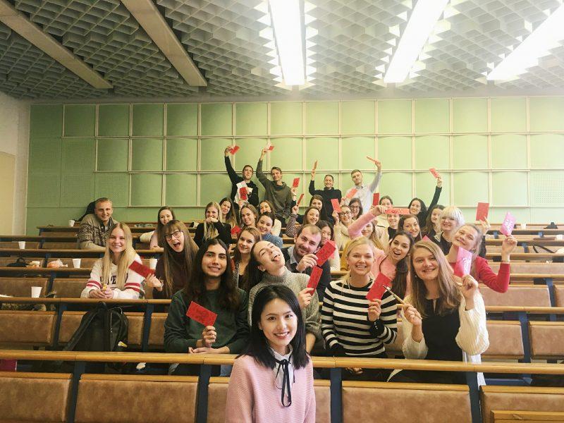 Čínske kultúre aktivity na Ekonomickej univerzite v Bratislave